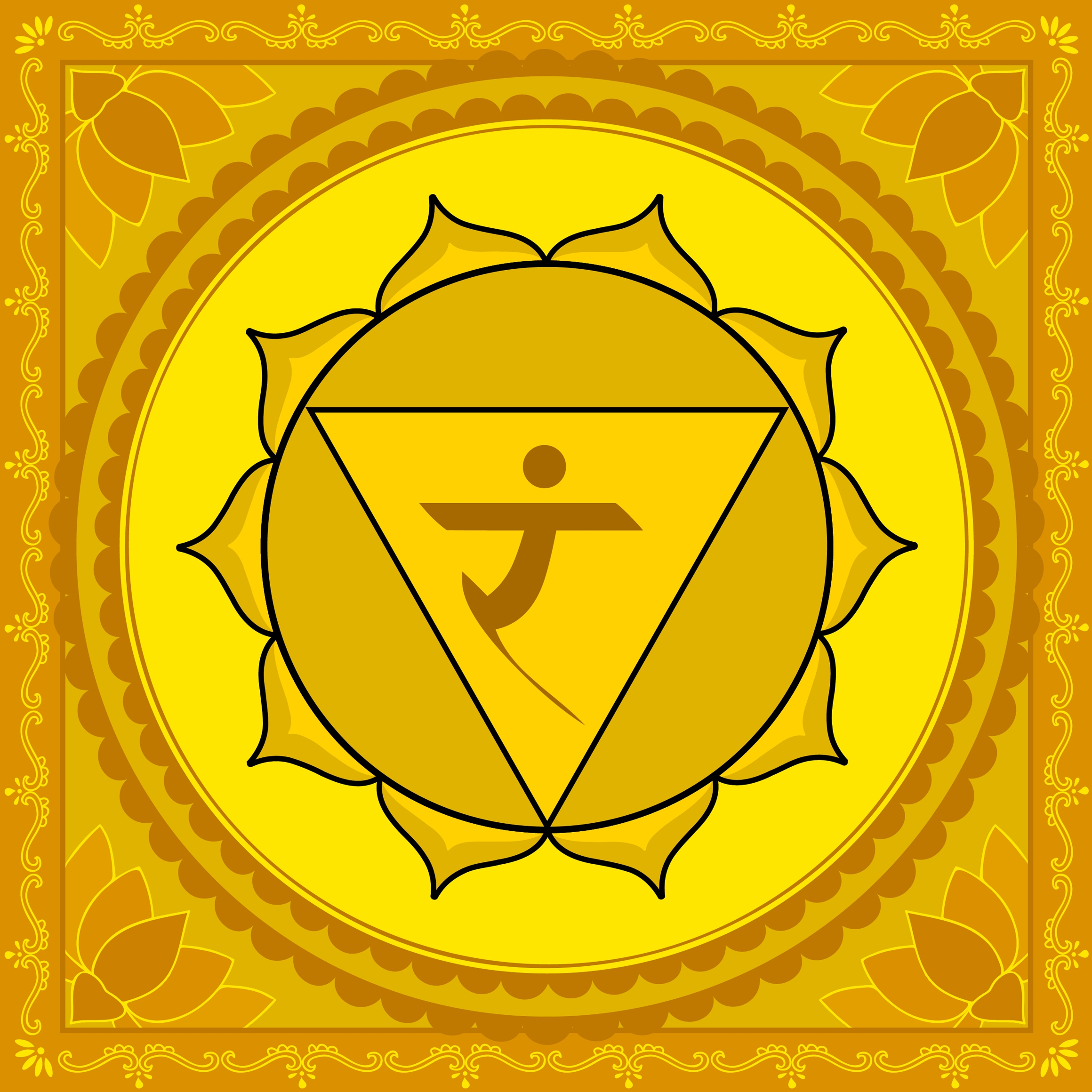 Solar Plexus Chakra deals with your will power and it is