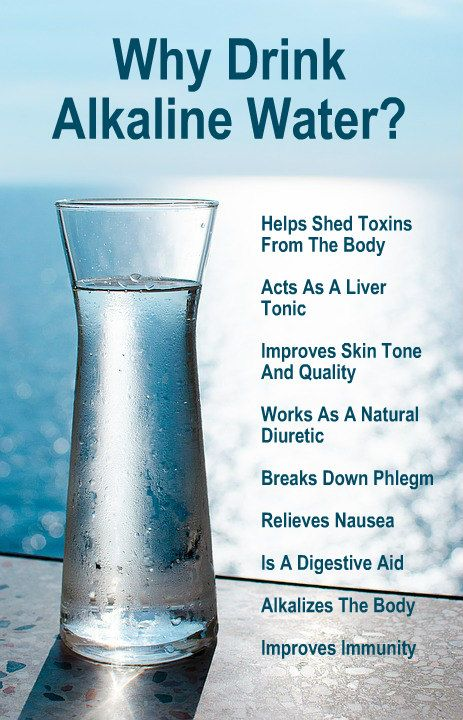 Why Drink Alkaline Water?