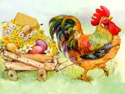 Easter Rooster