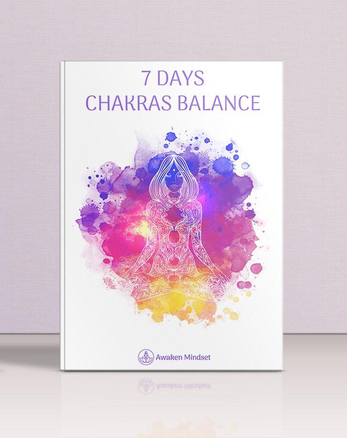 7 days chakras balance ebook popup