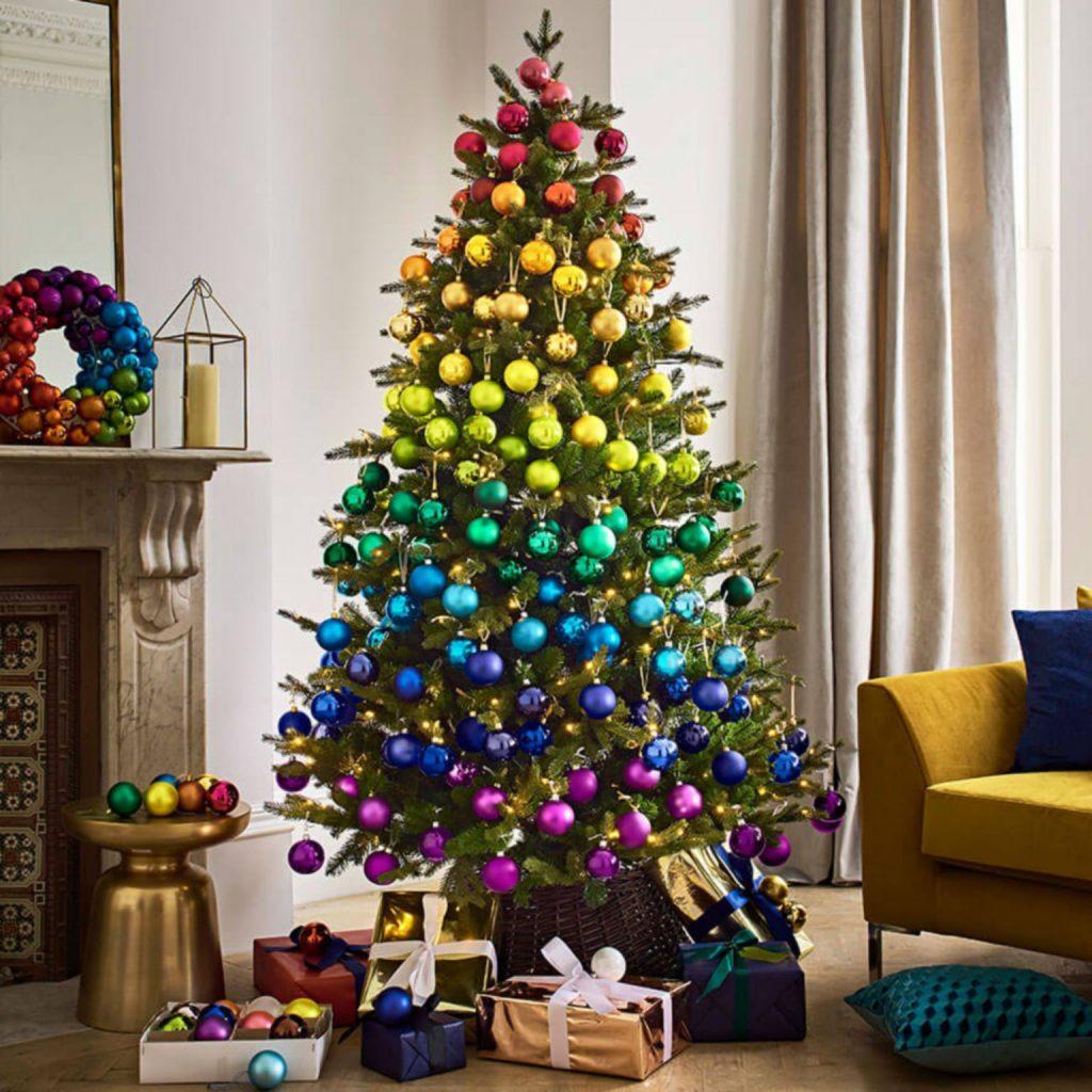 Christmas 2018 Rainbow Decorating Trend John Lewis