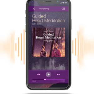 guided heart meditation mockup